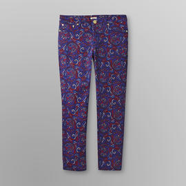 US Polo Assn. Women's Cropped Jeans - Paisley Print at Sears.com