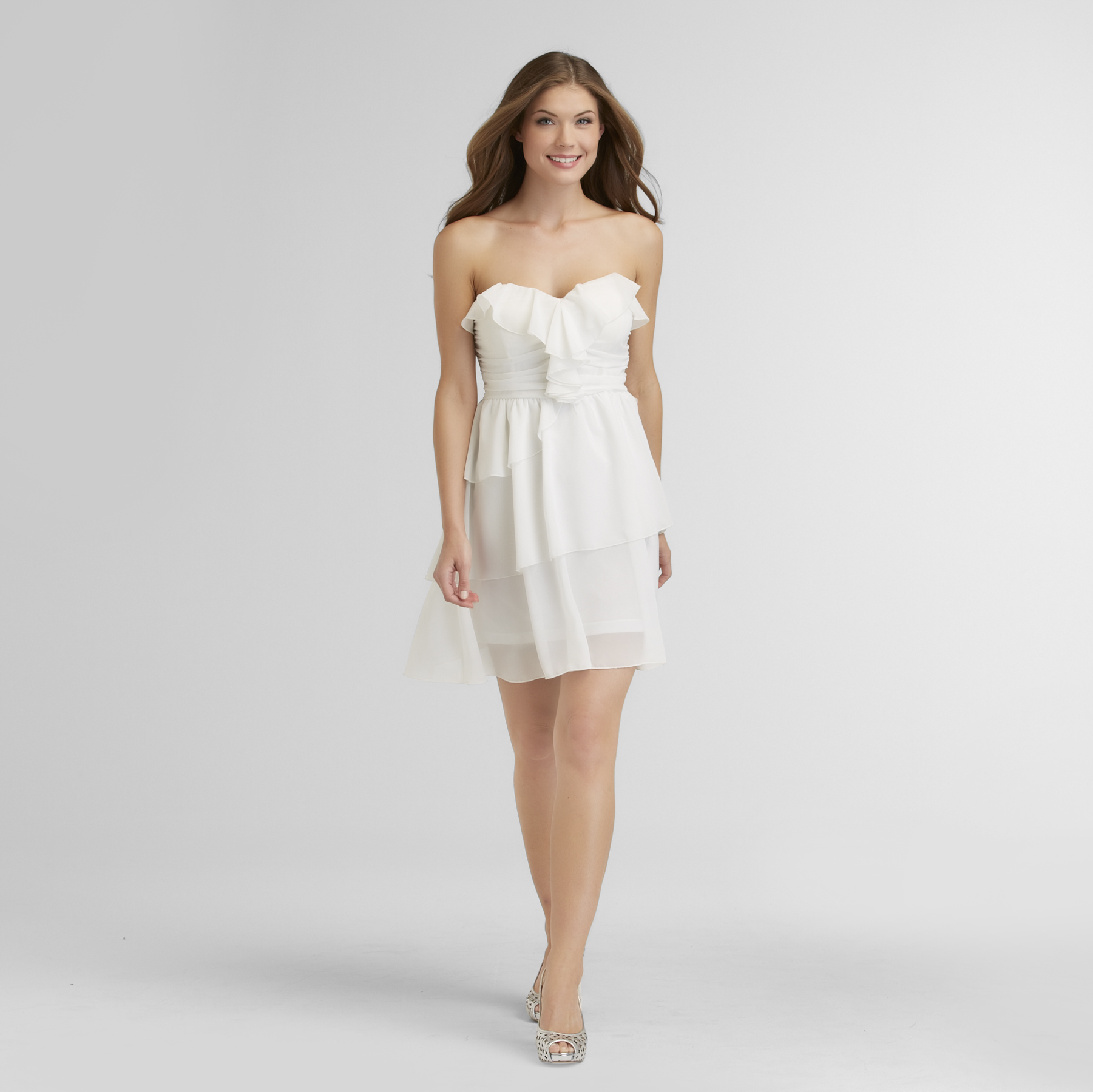 New Look Women's Tiered Chiffon Party Dress at Sears.com
