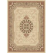 Tayse Rugs Sensation 4672 Beige 7 ft. 10 in. x 10 ft. 3 in. Traditional Area Rug at Sears.com
