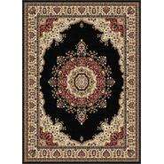 Tayse Rugs Sensation 4703 Black 7 ft. 10 in. x 10 ft. 3 in. Traditional Area Rug at Sears.com