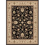 Tayse Rugs Sensation 4723 Black 7 ft. 10 in. x 10 ft. 3 in. Traditional Area Rug at Sears.com
