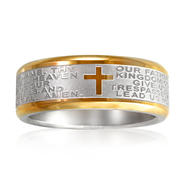 Men's Stainless Steel Prayer Band at Sears.com