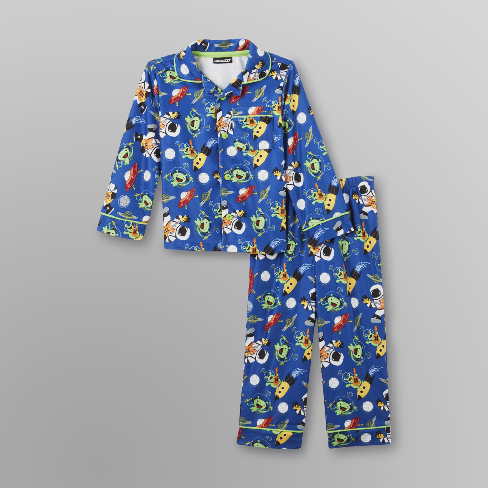 Infant & Toddler Boy's Flannel Pajamas -