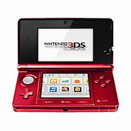 Nintendo 3DS Handheld Game Console - Flame Red at Kmart.com