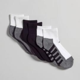 Athletech Boy's Three-Pair Quarter Socks at Kmart.com
