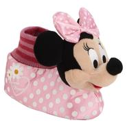 Disney Girls' Toddler Minnie Mouse Pink Socktop Slipper at Kmart.com