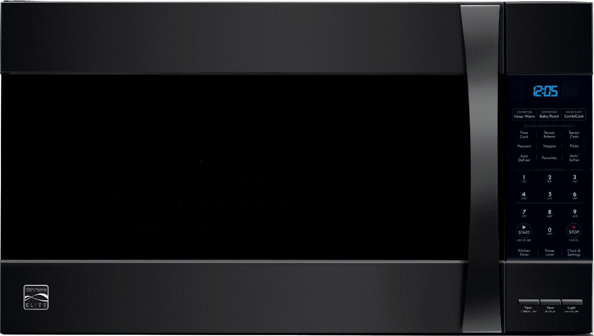 Kenmore Elite 80379 1.8 cu. ft. Over-the-Range Convection Microwave - Black