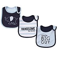 Carter's Infant Boy's 3 Pk Teething Bibs - Elephant at Sears.com