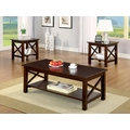 Venetian Worldwide Canan 3pc Coffee and End Tables