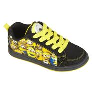 Character Boy's Sneaker Despicable Me - Black/Yellow at Kmart.com