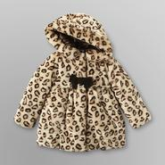 WonderKids Toddler Girl's Faux Fur Jacket - Leopard at Kmart.com