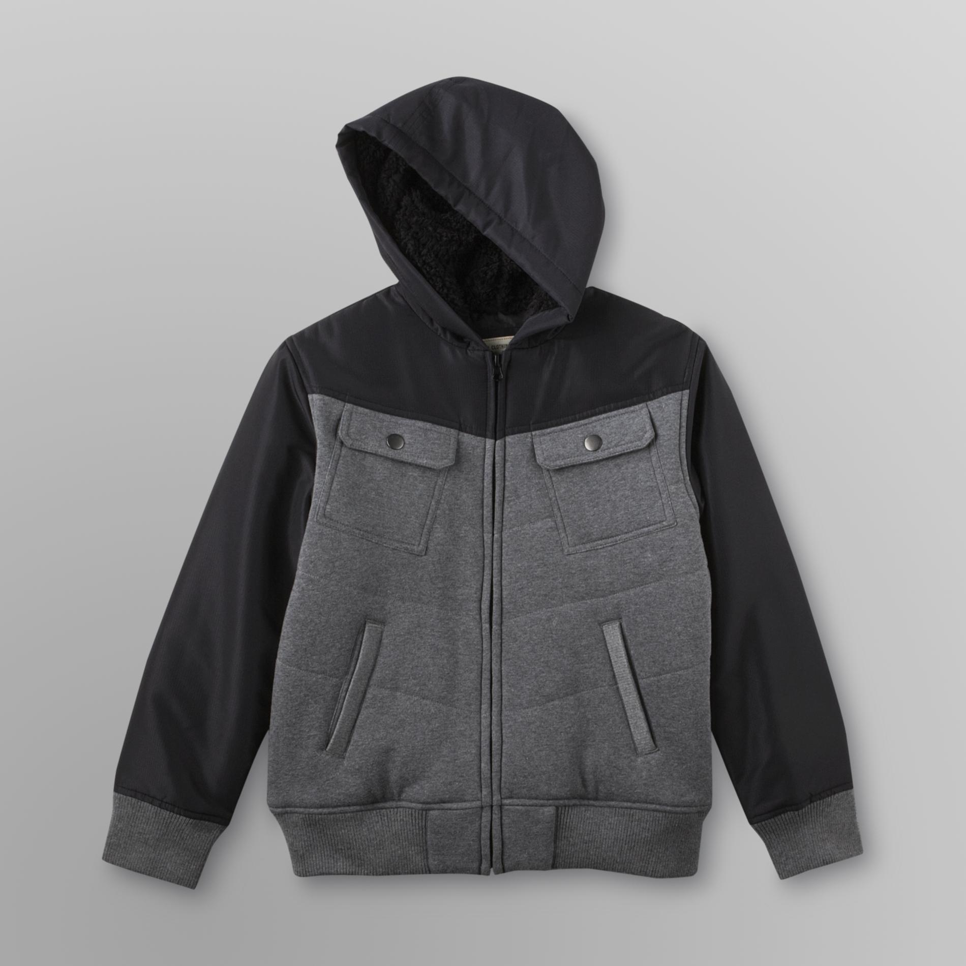 a1ed80f3c Route 66 Boy s Hooded Bomber Jacket