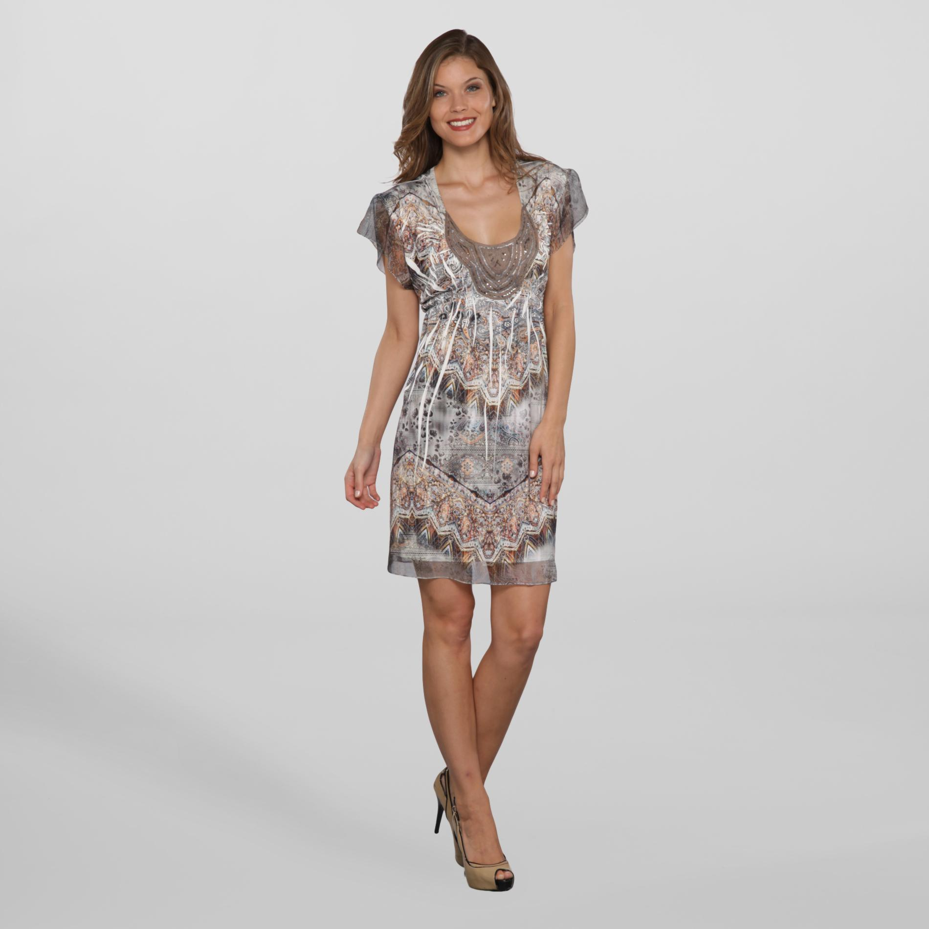 Women's Dress - Ikat Print at Sears.com