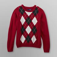 Basic Editions Boy's Knit Sweater - Argyle at Kmart.com