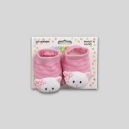 Infant Girl's Knit Booties - Cat at Kmart.com