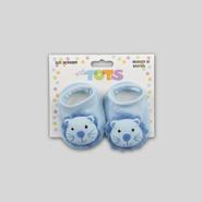 Infant Boy's Knit Booties - Lion at Kmart.com