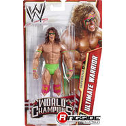 WWE Ultimate Warrior - WWE Series 29 (World Champions) Toy Wrestling Action Figure at Kmart.com