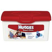 Huggies Simply Clean Fragrance Free Baby Wipes, 72 wipes at Kmart.com