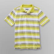 Basic Editions Boy's Pique Polo Shirt - Striped at Kmart.com