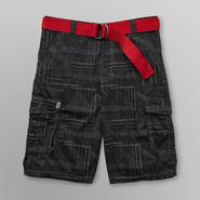 NSS Men's Belted Cargo Shorts - Plaid at Kmart.com