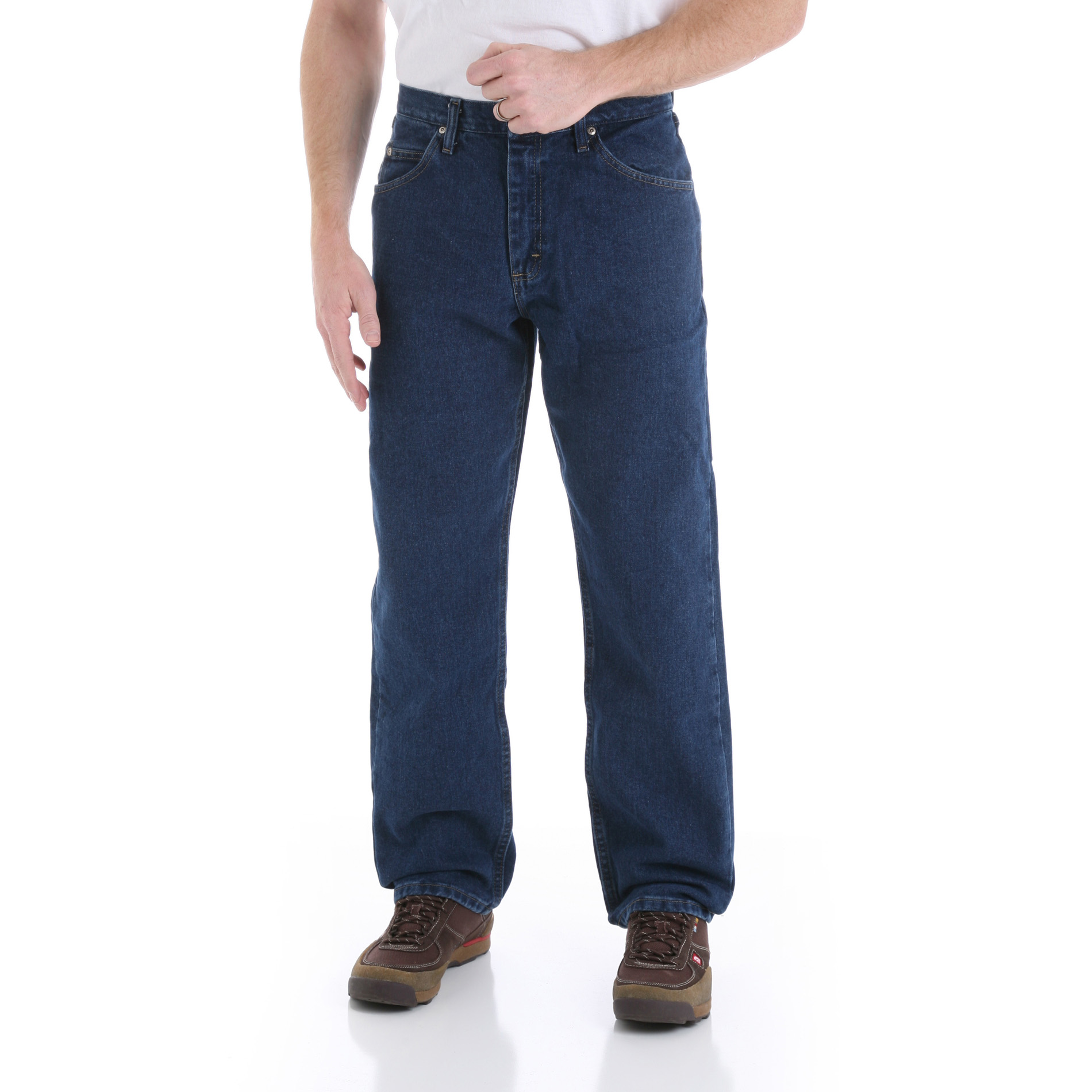 Wrangler Men's Big & Tall Relaxed Fit Dark Rinse Jean at Kmart.com