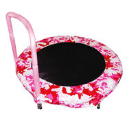 "BAZOONGI 48"" Camo Pink Bouncer at Kmart.com"