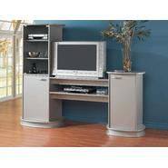 "Monarch Specialties SILVER ENTERTAINMENT CENTER / 32"" T.V. at Kmart.com"
