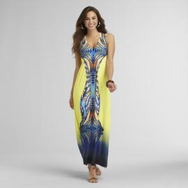 Live and Let Live Women's Sublimation Print Maxi Dress at Sears.com