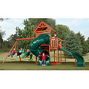Swing-N-Slide Grandview Twist Wood Complete Play Set at Sears.com