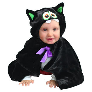 Totally Ghoul Toddler Bat Cape Halloween Costume