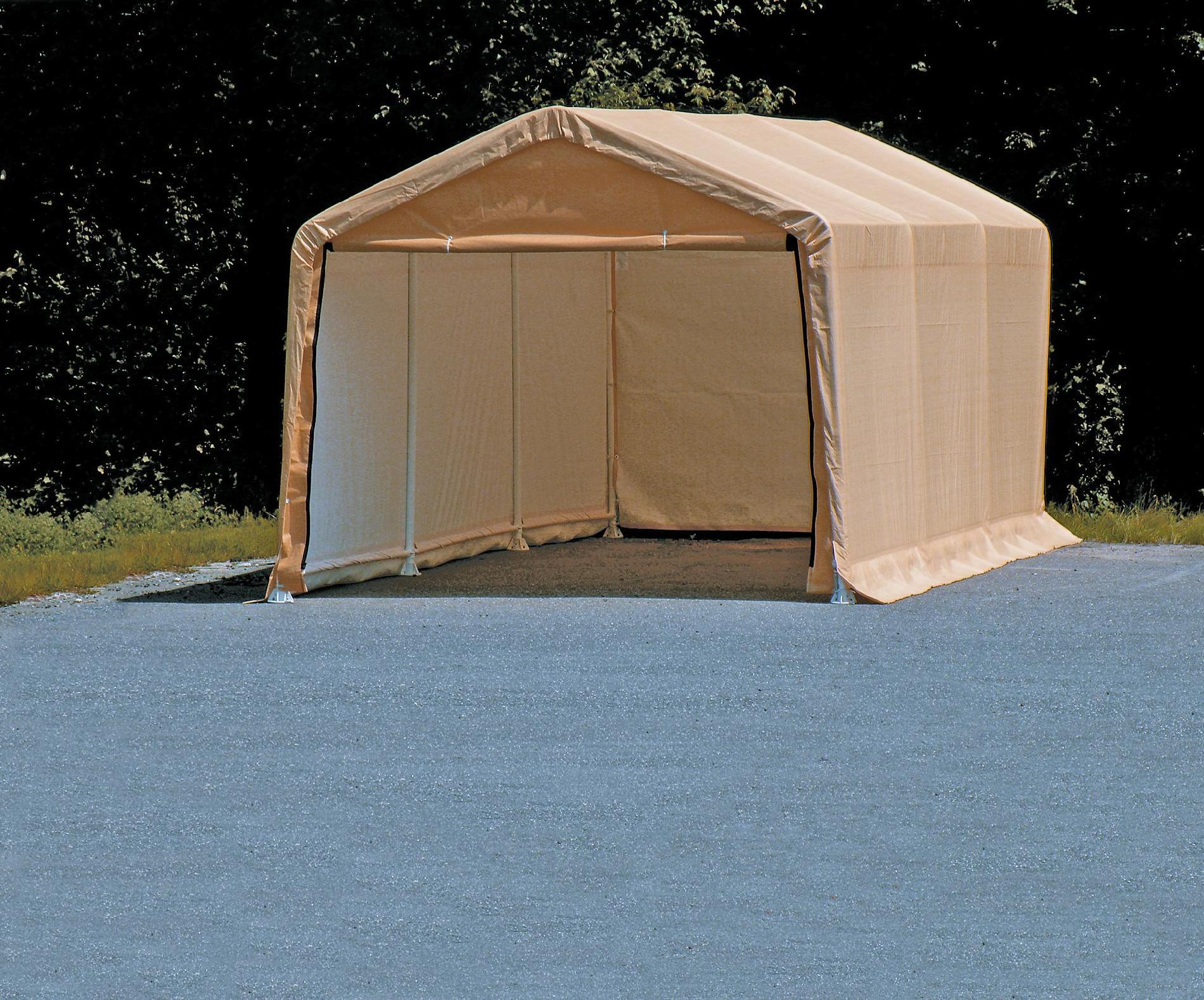 ShelterLogic AutoShelter Tan 62680 10' x 20'