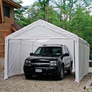 Shelter Logic 10 ft. x 20 ft. Enclosure Kit - White, Canopy Not Included. at Kmart.com