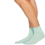 Velvet Heart™ Lacey Floral Flounce Top Ankle Socks at Sears.com