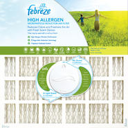 Febreze 14x24x1 Furnace Filter 4 pack at Kmart.com