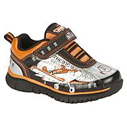 Disney Toddler Boy's Sneaker Planes - Grey/Orange at Kmart.com
