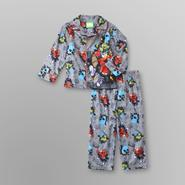 Sesame Street Infant & Toddler Boy's Flannel Pajamas - Rock at Kmart.com