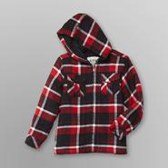 Route 66 Boy's Hooded Flannel Jacket - Plaid at Sears.com