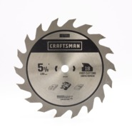 Craftsman CM 5 3/8IN-18T   CARBIDE at Craftsman.com
