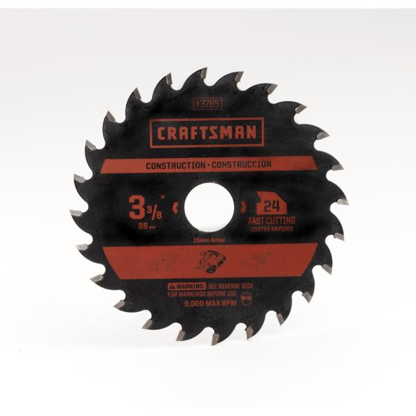 Craftsman 3-3/8IN 24T Carbide Blade