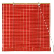 Oriental Furniture Bamboo Roll Up Blinds - Red - (60 in. x 72 in.) at Kmart.com