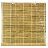Oriental Furniture Burnt Bamboo Roll Up Blinds - Natural - (60 in. x 72 in.) at Kmart.com