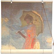 Oriental Furniture Girl With a Parasol Bamboo Blinds - (24 in. x 72 in.) at Kmart.com