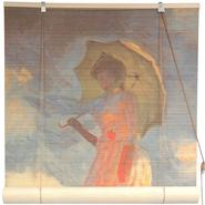 Oriental Furniture Girl With a Parasol Bamboo Blinds - (36 in. x 72 in.) at Kmart.com