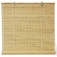 Oriental Furniture Bamboo Roll Up Blinds - Natural - (72 in. x 72 in.) at Kmart.com