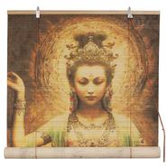 Oriental Furniture Kwan Yin with Lotus Bamboo Blinds - (48 in. x 72 in.) at Kmart.com