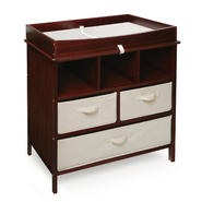 Badger Basket Estate Baby Changing Table - Cherry at Kmart.com