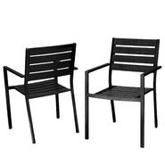 Lanai Black Poly Wood Outdoor Chairs (Set of 2) at Sears.com