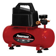 Powermate 2 Gallon Portable Electric Compressor with Extra Value Kit at Kmart.com