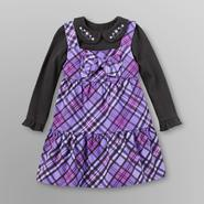 WonderKids Infant & Toddler 2 Pc Girl's Jumper Set - Plaid at Kmart.com