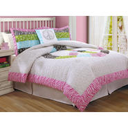 Bed Ink Peace Sign Full / Queen Comforter With 2 Shams at Kmart.com